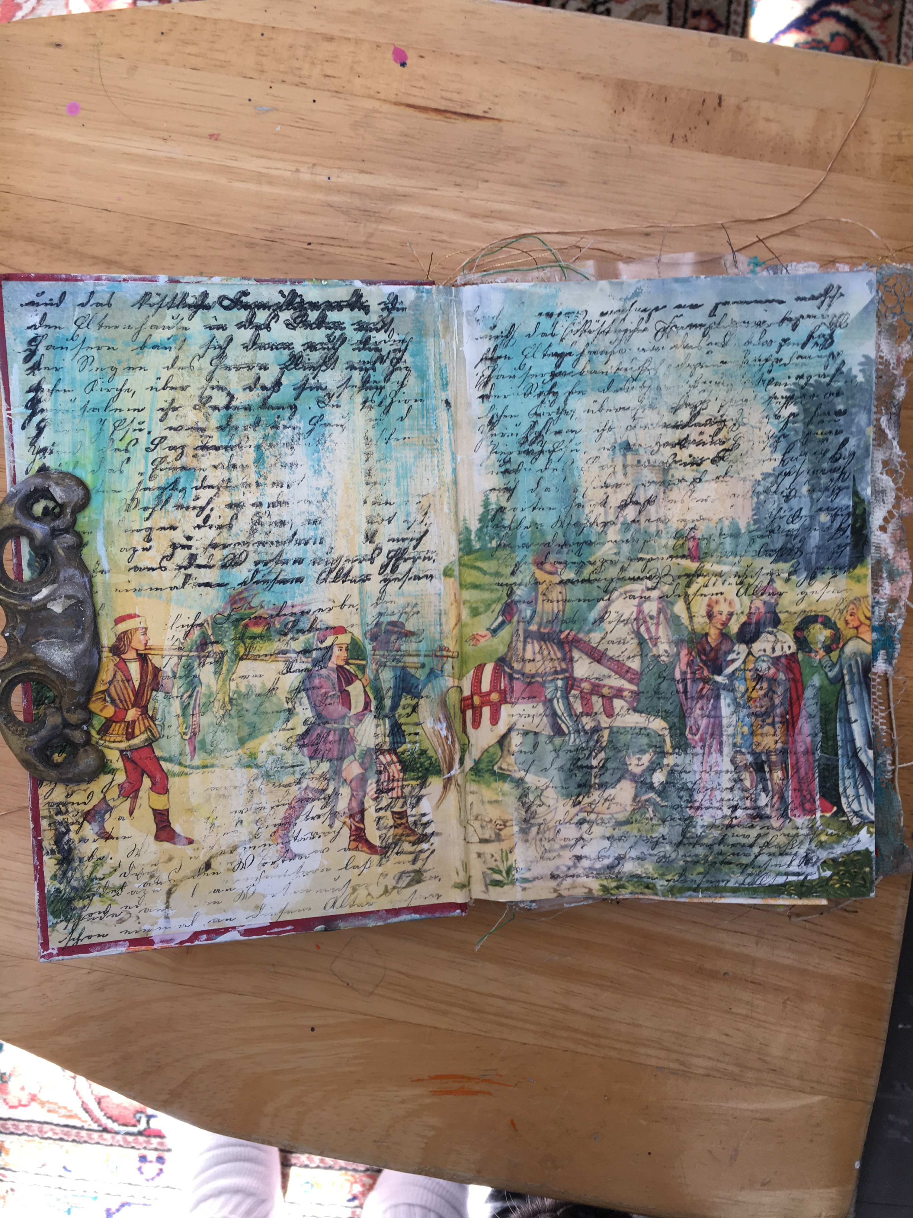 Altered Book/Art Journaling workshop