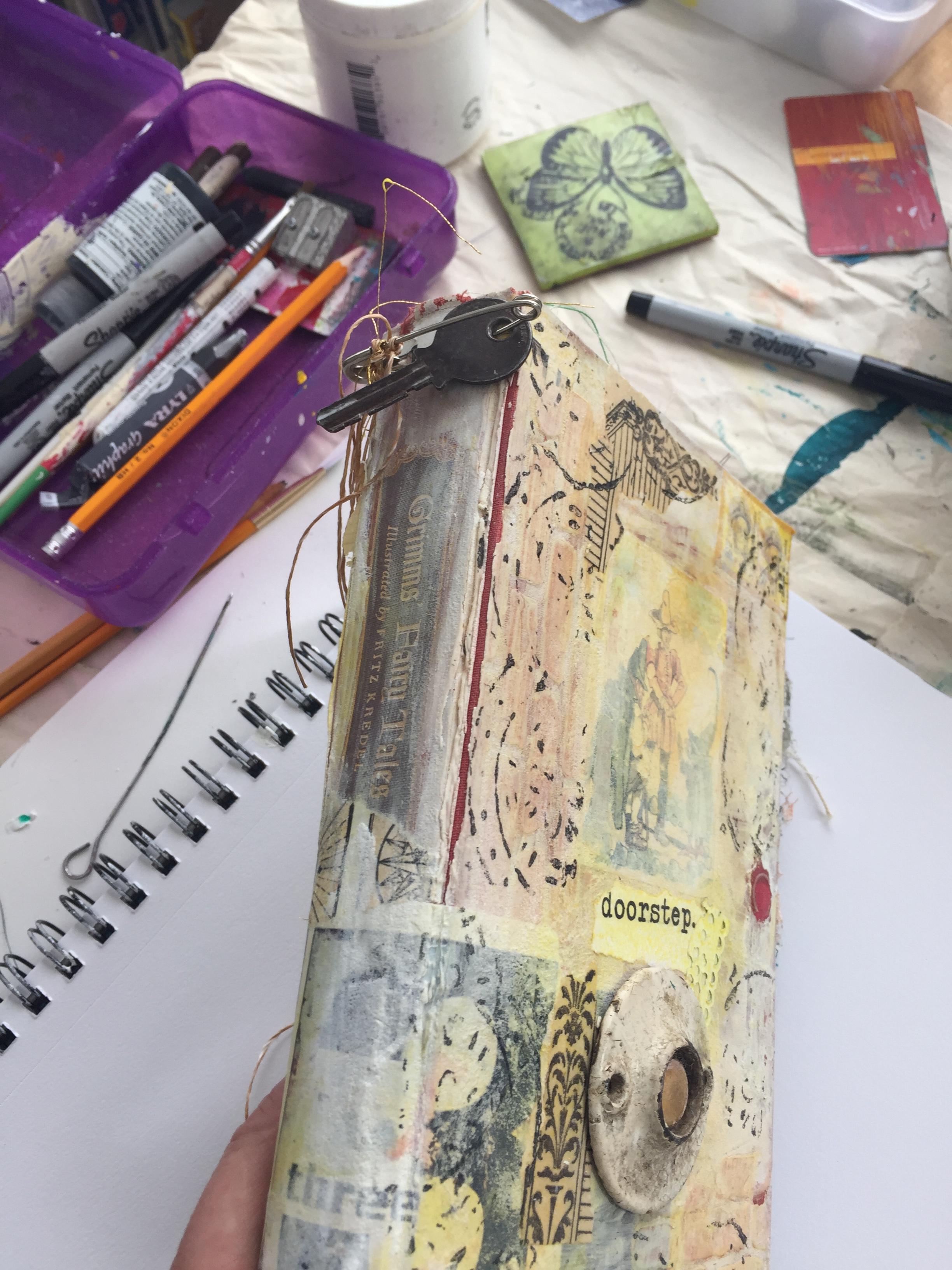 Altered Book/Art Journaling workshop
